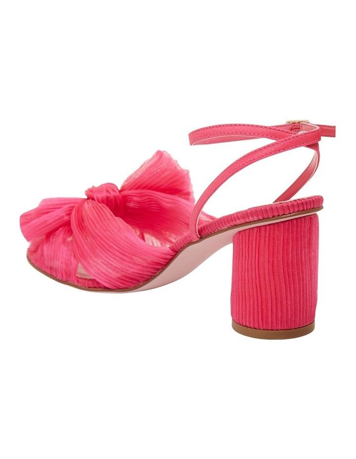 Secret Fuchsia Fabric Sandals image 7