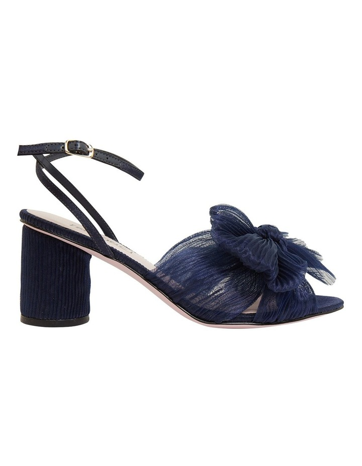 Secret Navy Fabric Sandals image 1