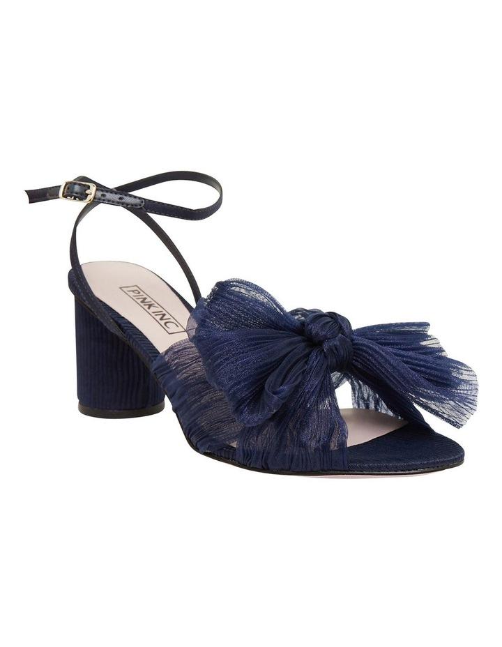 Secret Navy Fabric Sandals image 2