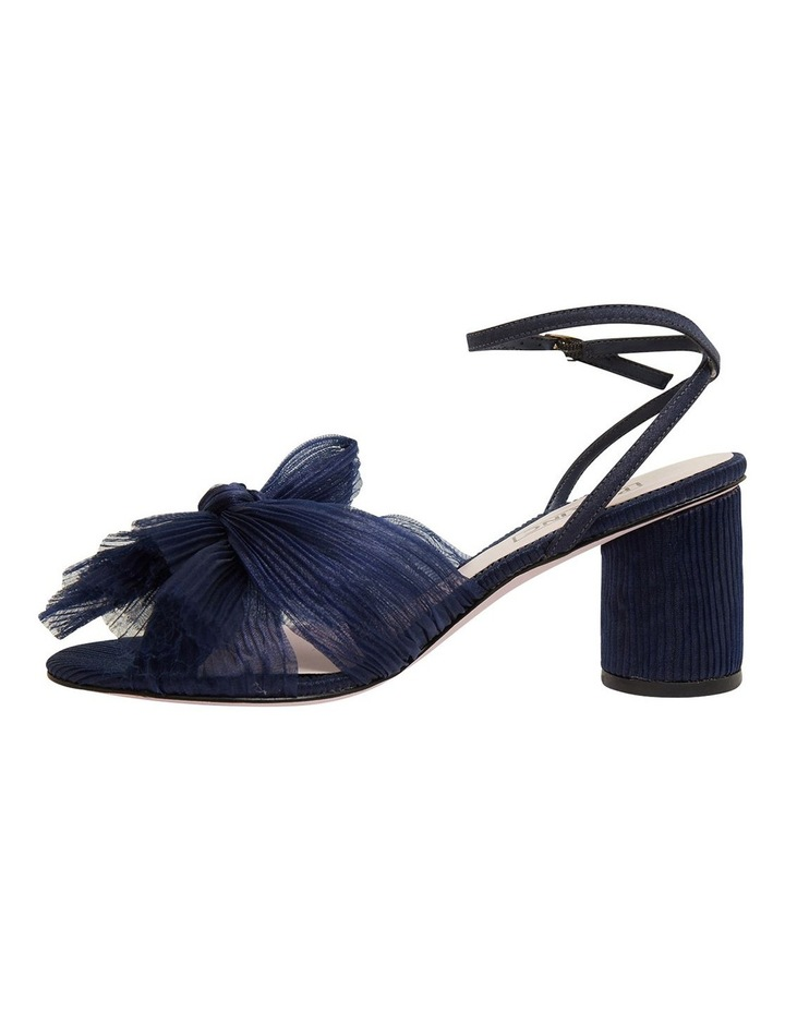 Secret Navy Fabric Sandals image 3