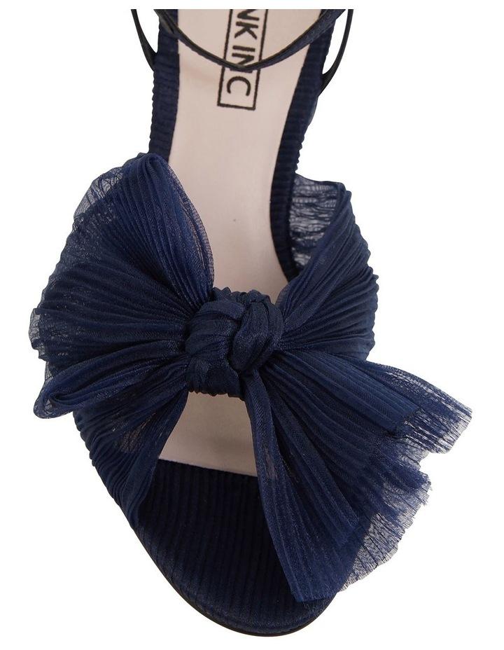 Secret Navy Fabric Sandals image 5