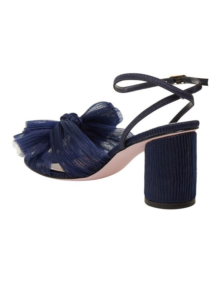 Secret Navy Fabric Sandals image 6