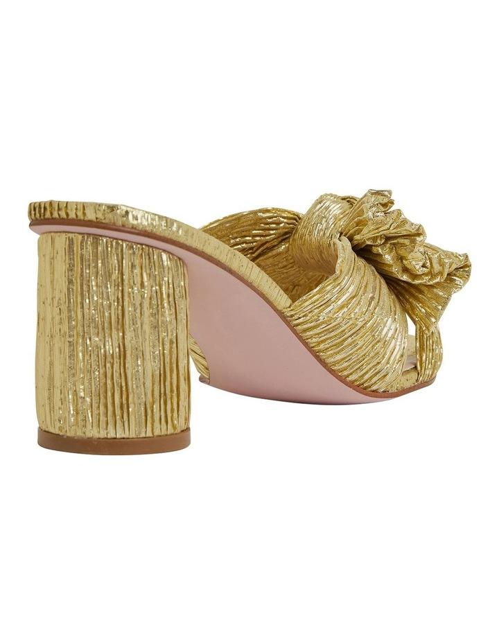 Surge Gold Metallic Sandals image 4