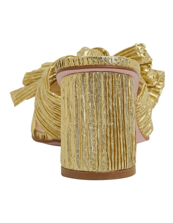 Surge Gold Metallic Sandals image 5