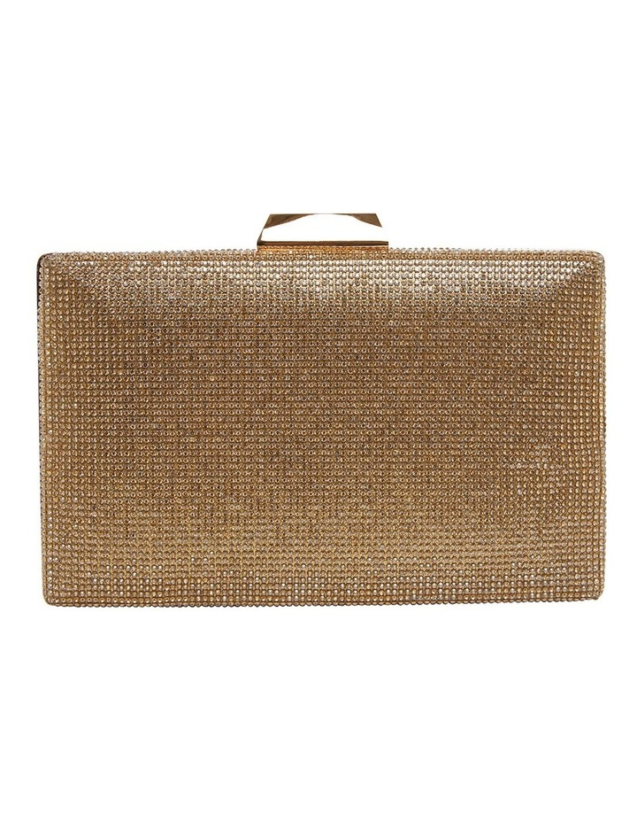 Desyre Gold Clutch Bag image 1