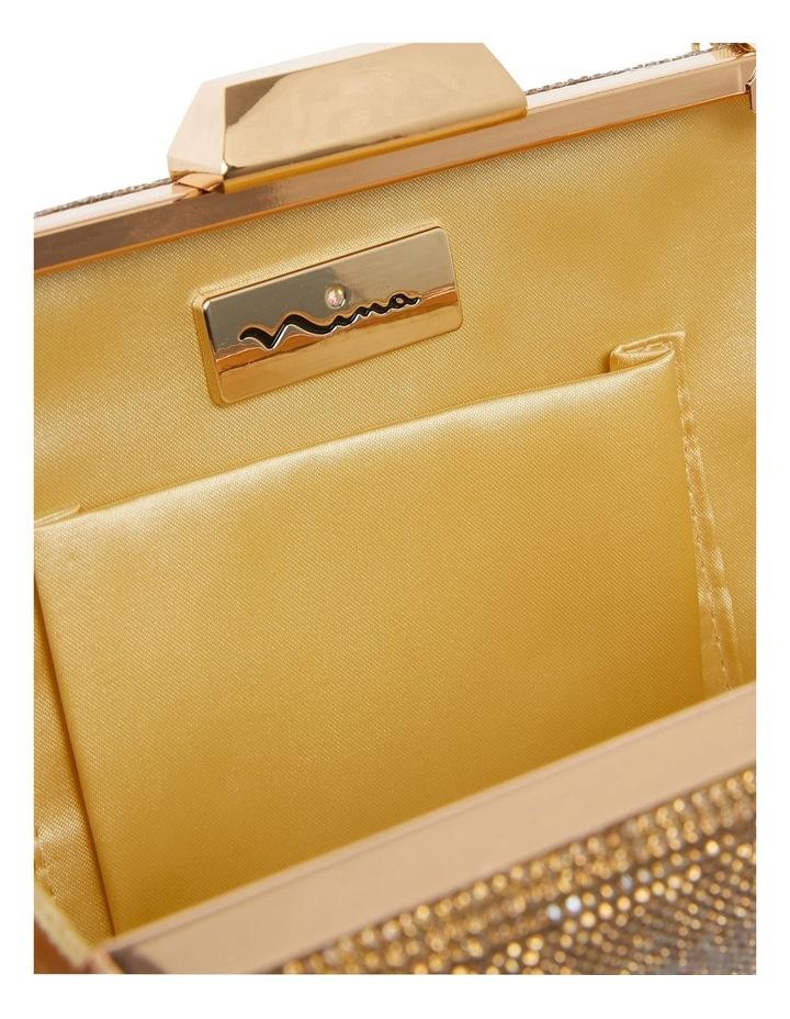 Desyre Gold Clutch Bag image 2