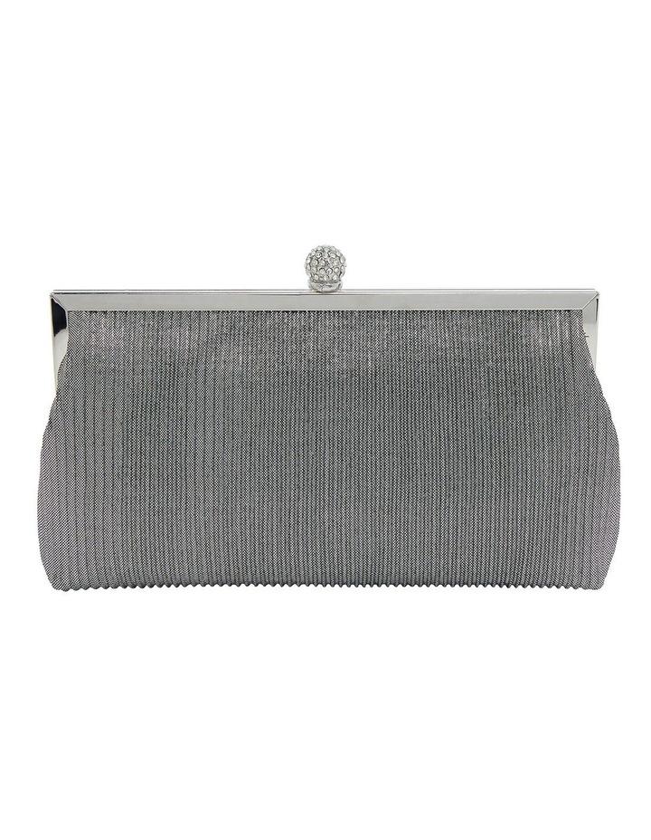 Desyre Silver Clutch Bag image 1