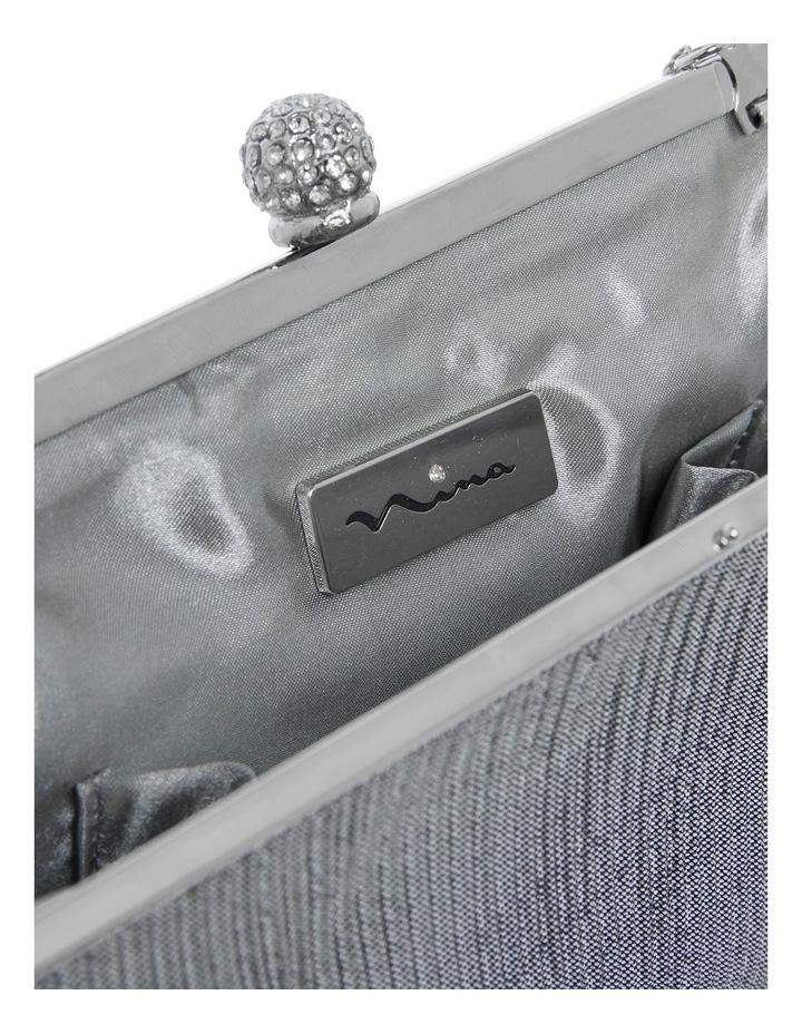 Desyre Silver Clutch Bag image 2