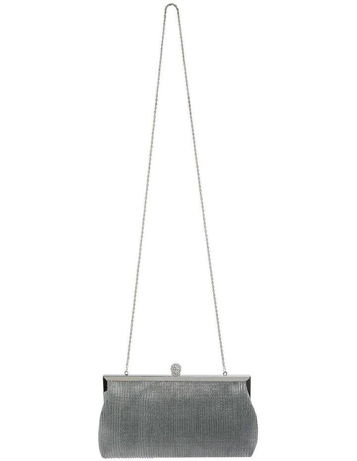 Desyre Silver Clutch Bag image 3