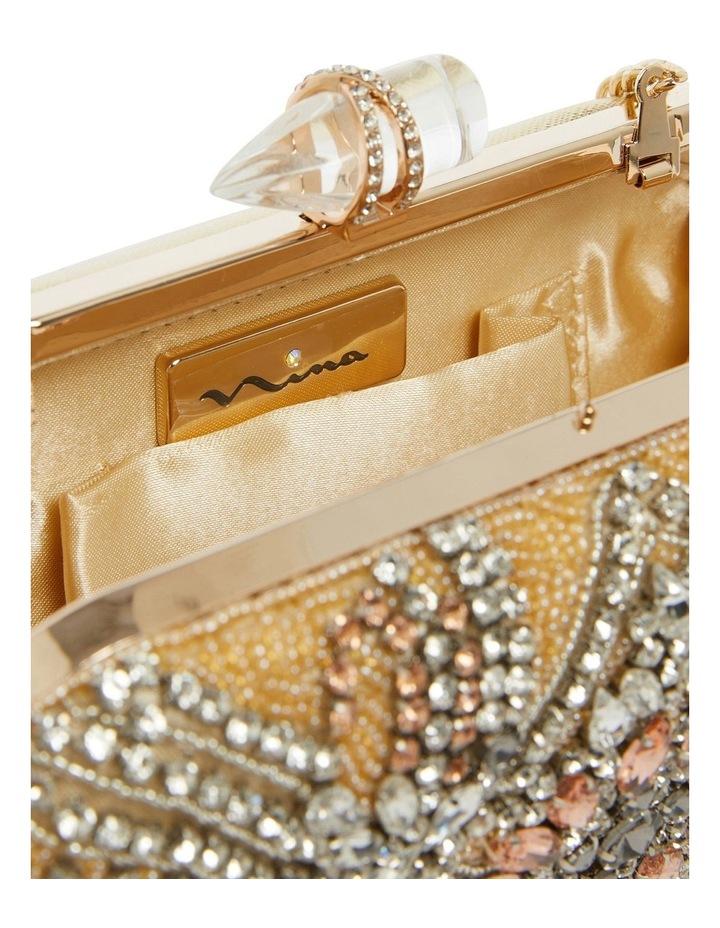 Gelsey Gold/Multi Clutch Bag image 3