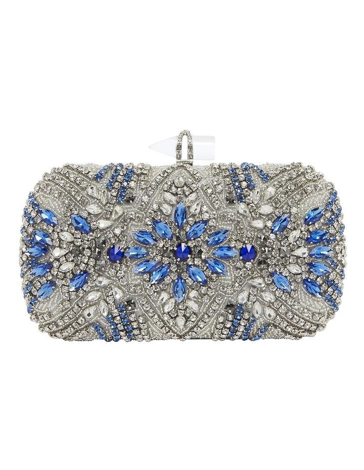 Gelsey Silver/Multi Clutch Bag image 1