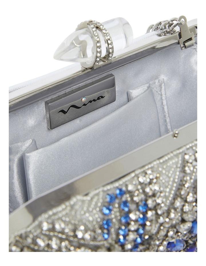 Gelsey Silver/Multi Clutch Bag image 3