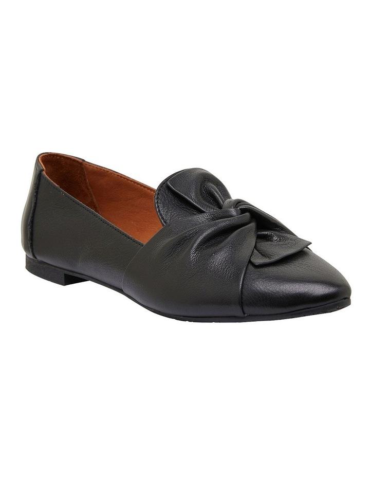 Rosco Black Glove Flat Shoes image 2