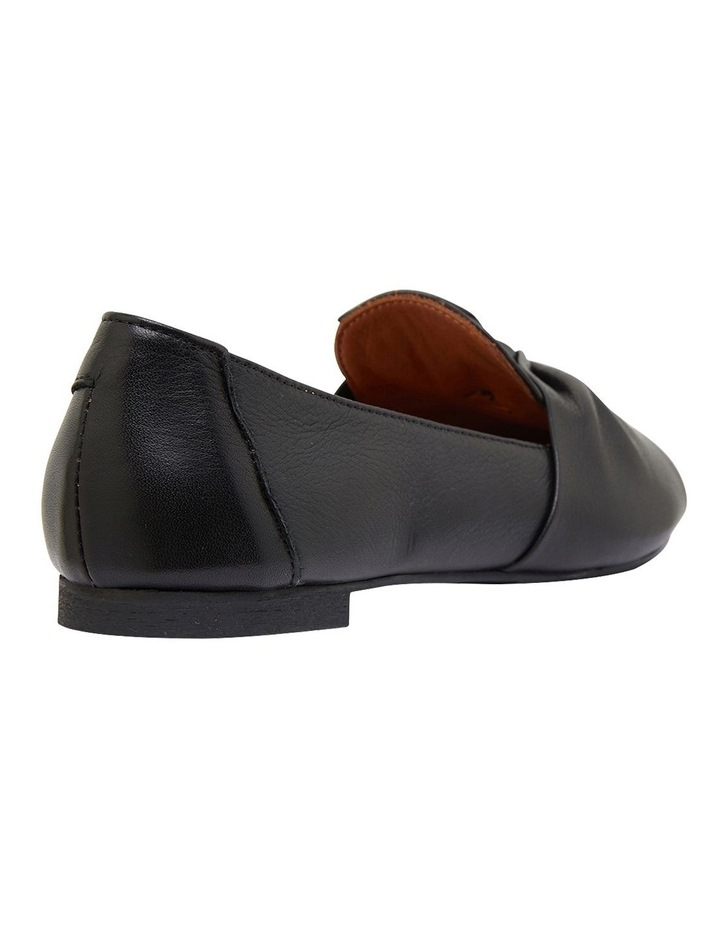 Rosco Black Glove Flat Shoes image 4