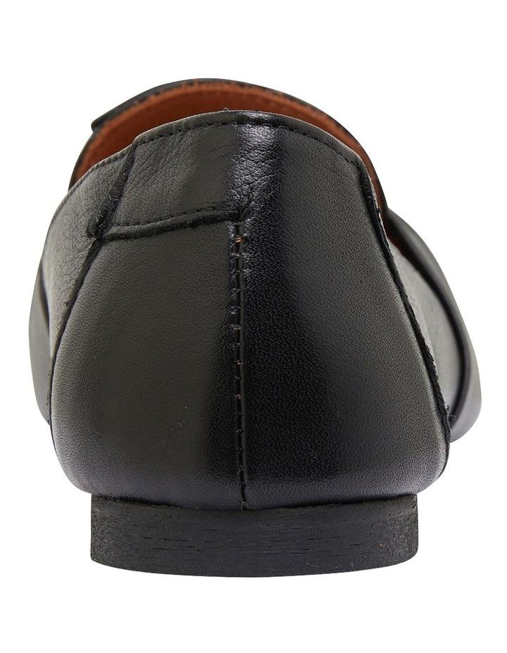 Rosco Black Glove Flat Shoes image 5