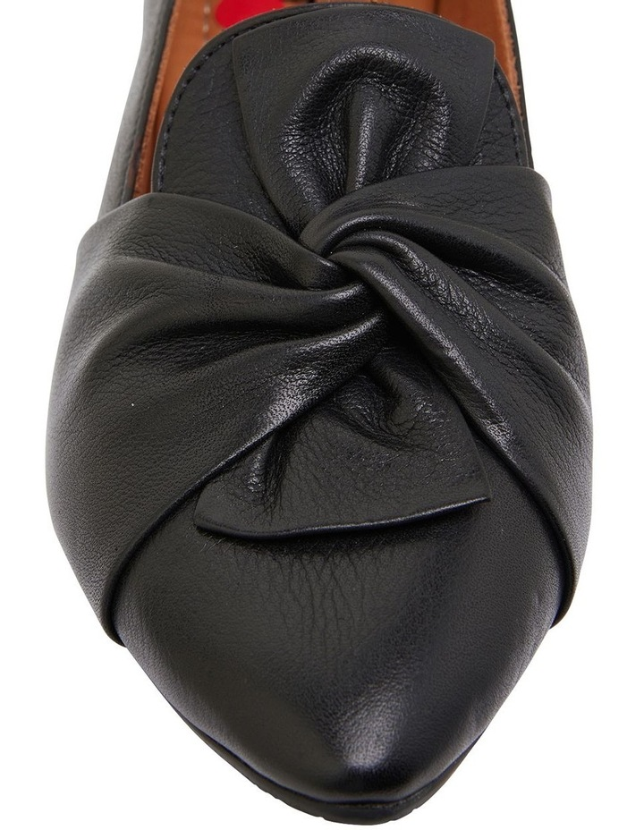 Rosco Black Glove Flat Shoes image 6