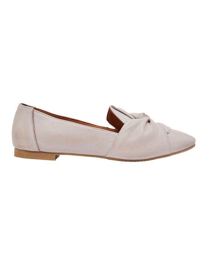 Rosco Light Grey Glove Flat Shoes image 1