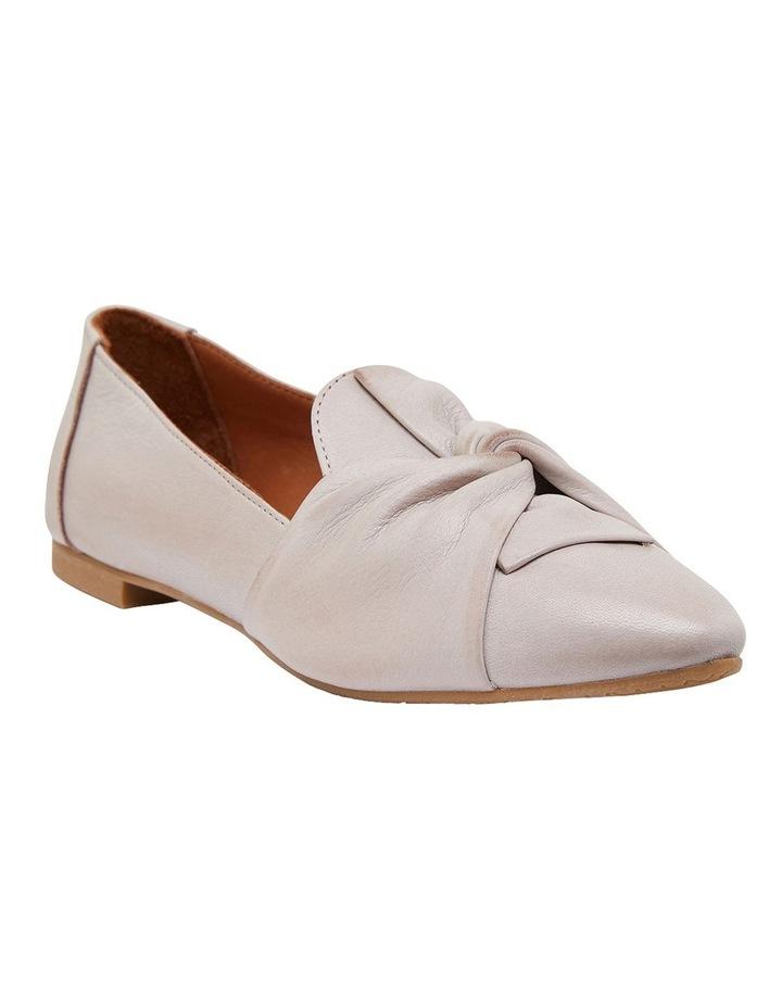 Rosco Light Grey Glove Flat Shoes image 2