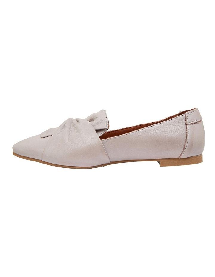 Rosco Light Grey Glove Flat Shoes image 3