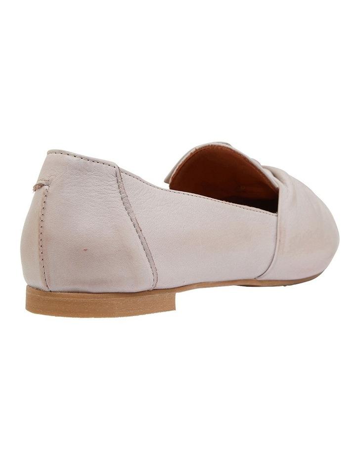 Rosco Light Grey Glove Flat Shoes image 4