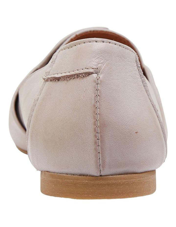 Rosco Light Grey Glove Flat Shoes image 5