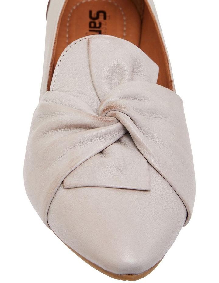 Rosco Light Grey Glove Flat Shoes image 6