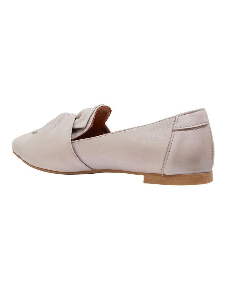 Rosco Light Grey Glove Flat Shoes image 7
