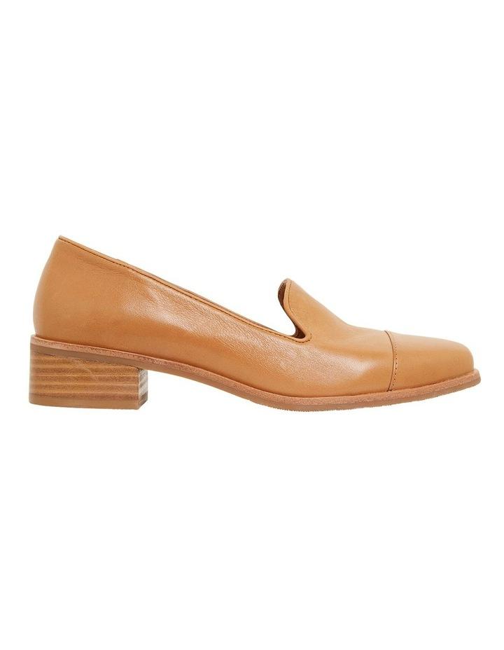 Sable Cognac Glove Flat Shoes image 1