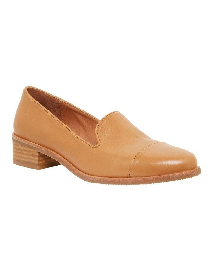 Sable Cognac Glove Flat Shoes image 2