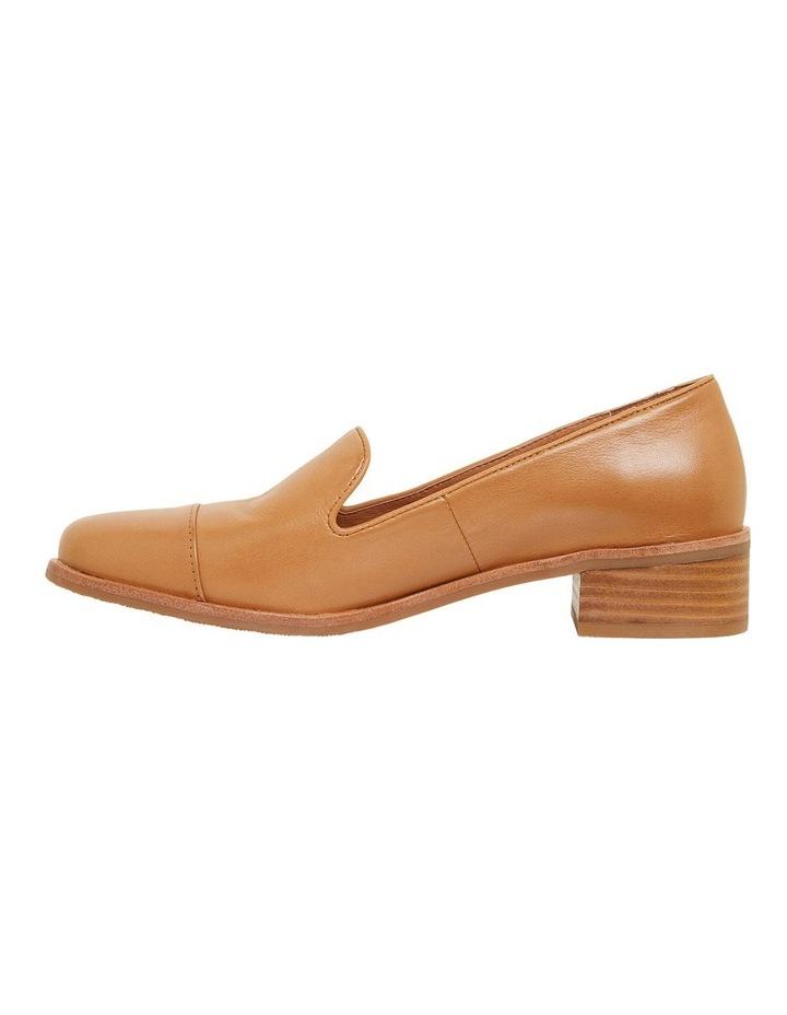 Sable Cognac Glove Flat Shoes image 3