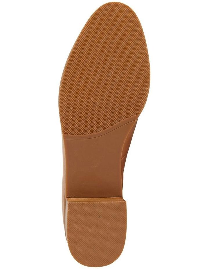 Sable Cognac Glove Flat Shoes image 7
