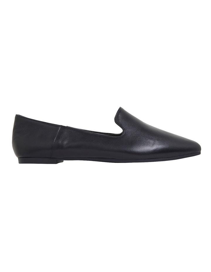 Liana Black Glove Flat Shoes image 1