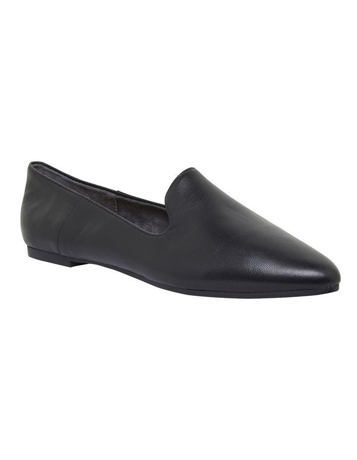 Liana Black Glove Flat Shoes image 2