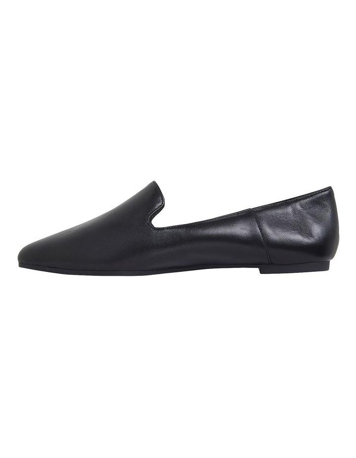 Liana Black Glove Flat Shoes image 3