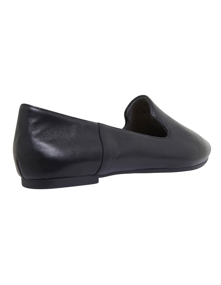 Liana Black Glove Flat Shoes image 4
