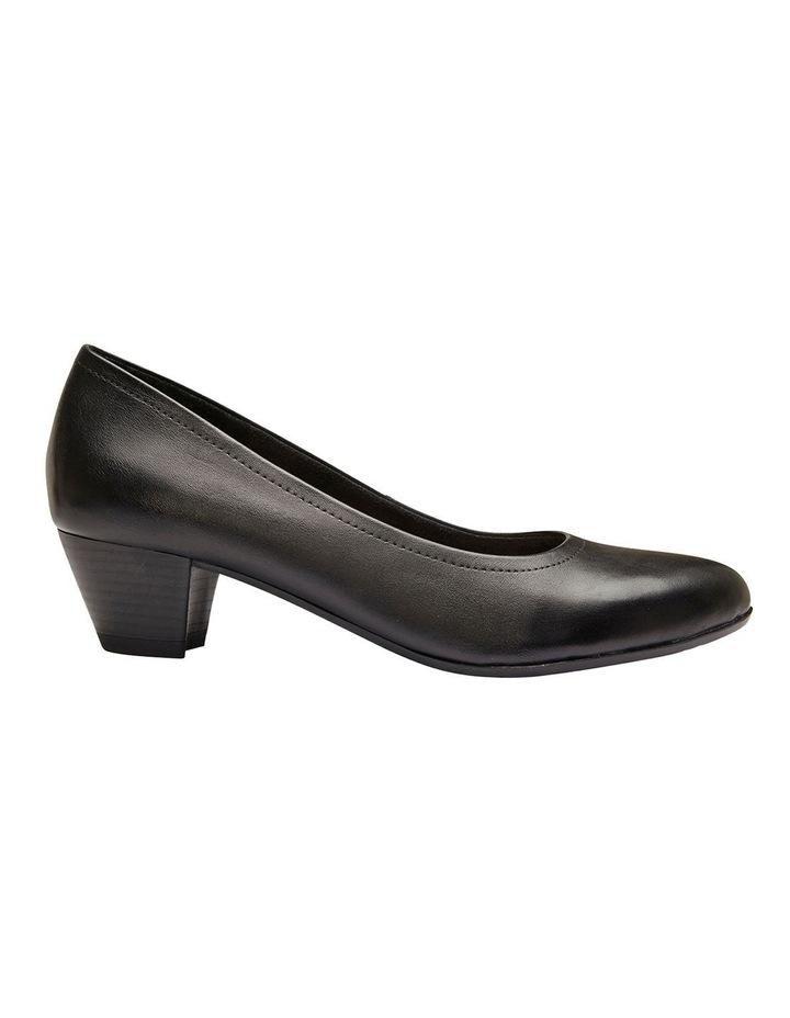 Ollie Black Glove Heeled Shoes image 1