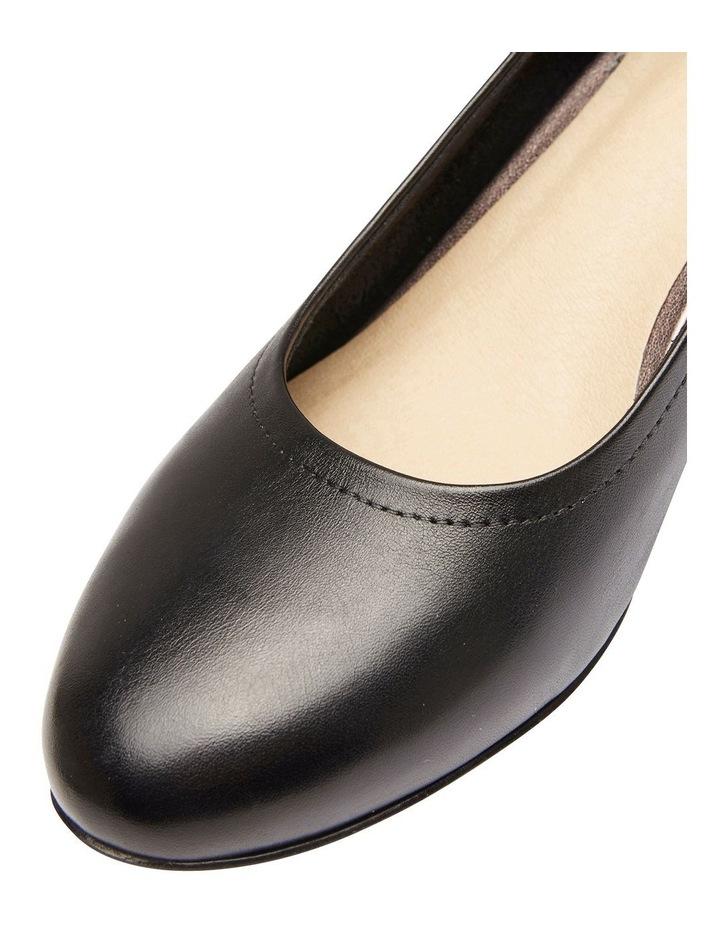 Ollie Black Glove Heeled Shoes image 4