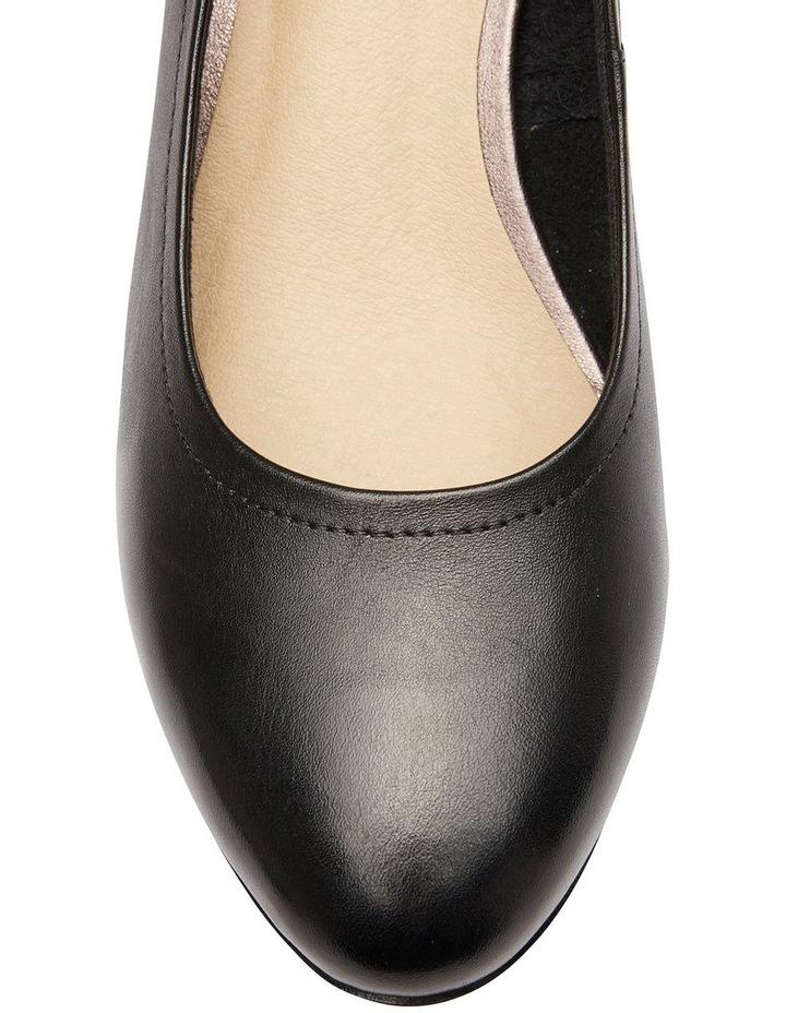Ollie Black Glove Heeled Shoes image 6