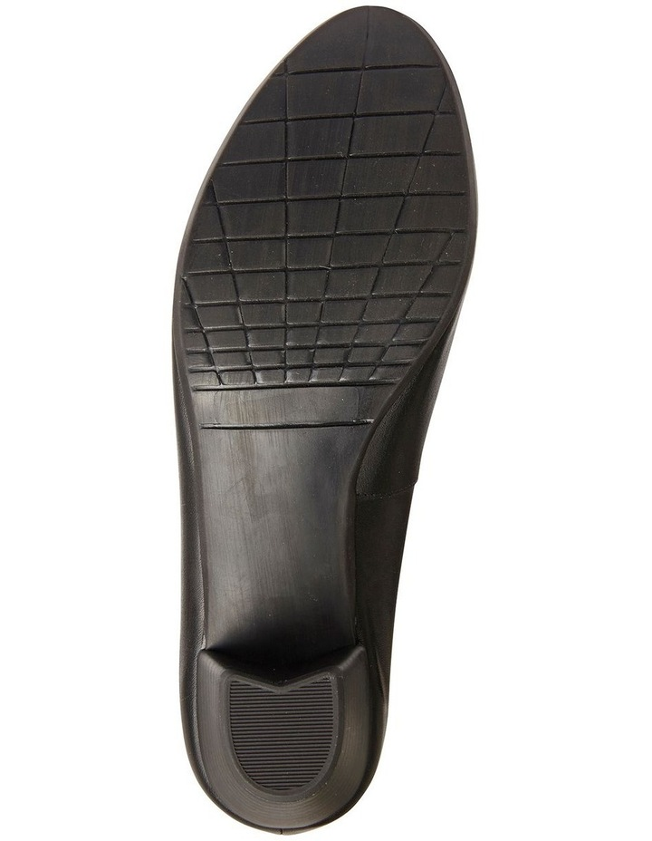 Ollie Black Glove Heeled Shoes image 7