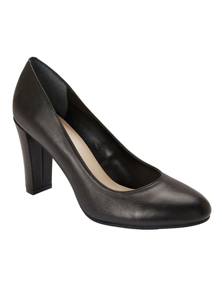 Alibi Black Glove Heeled Shoes image 2