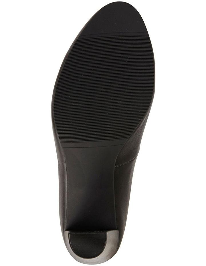 Alibi Black Glove Heeled Shoes image 6