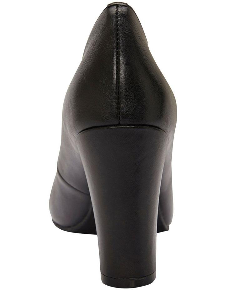 Alibi Black Glove Heeled Shoes image 7
