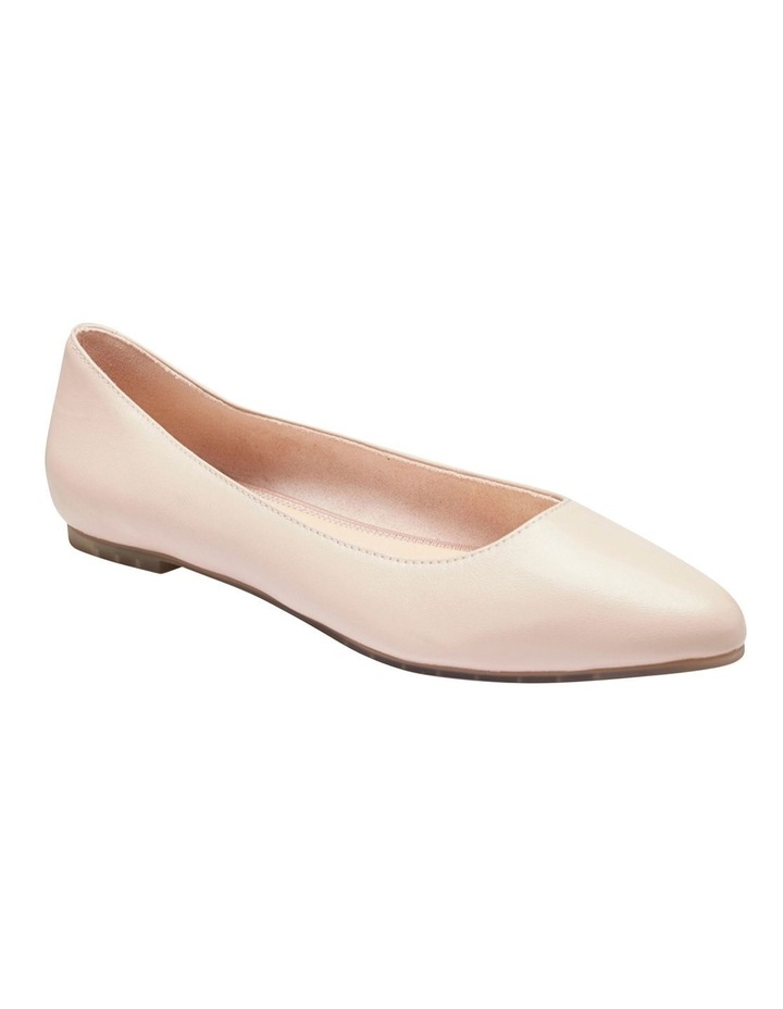 Lucia Blush Glove Flat Shoes image 2