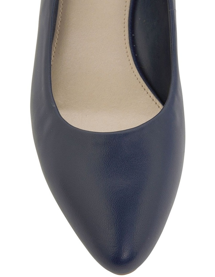 Henry Navy Glove Heeled Shoes image 5