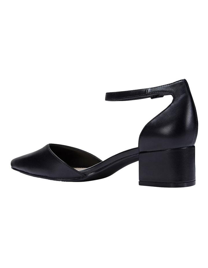 Dash Black Glove Heeled Shoes image 6