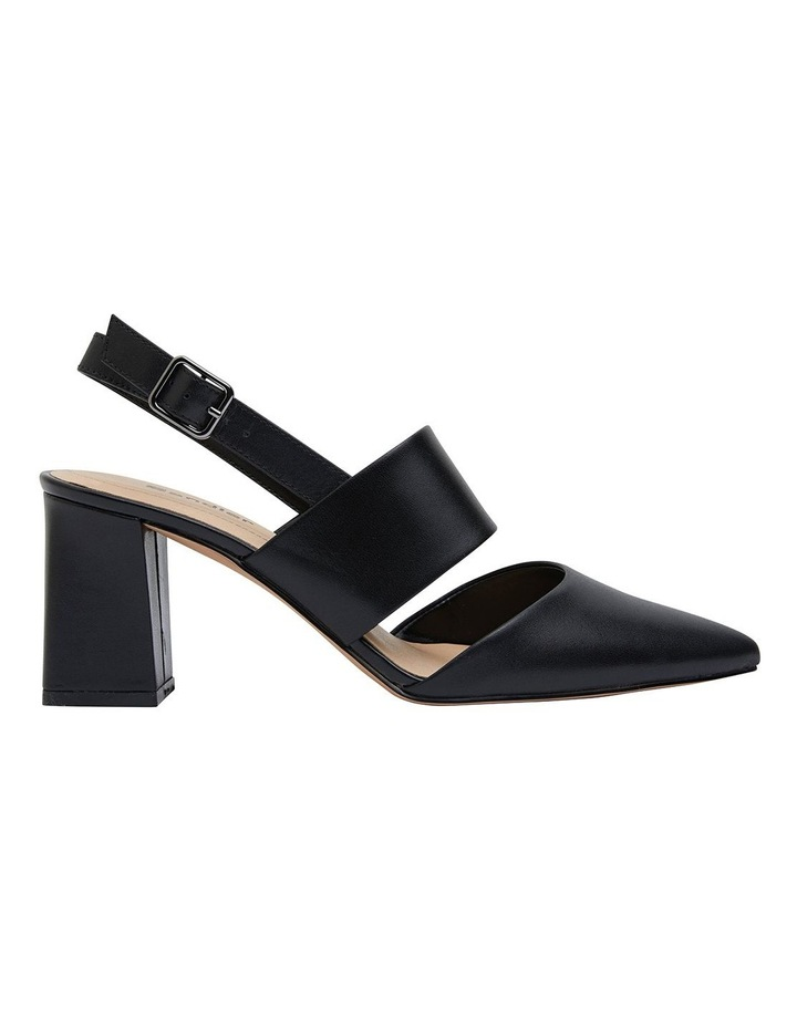 Kitson Black Patent /Glove Heeled Shoes image 1