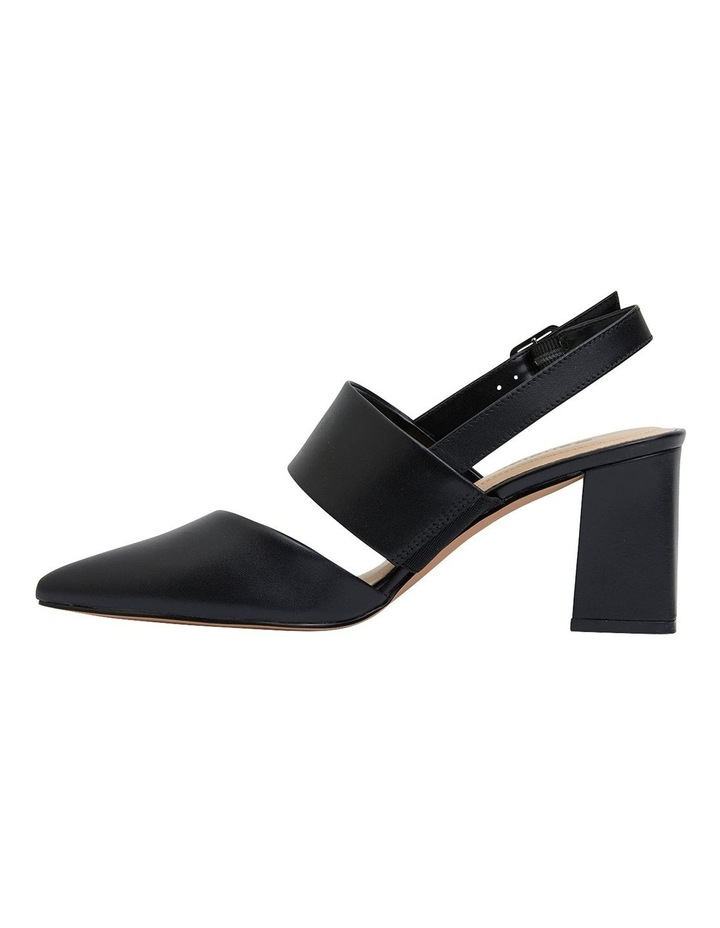 Kitson Black Patent /Glove Heeled Shoes image 3