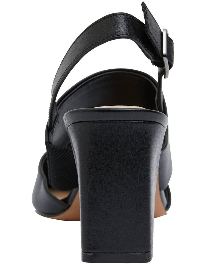 Kitson Black Patent /Glove Heeled Shoes image 5