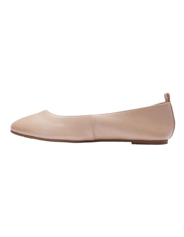 Gaze Nude Glove Flat Shoes image 3