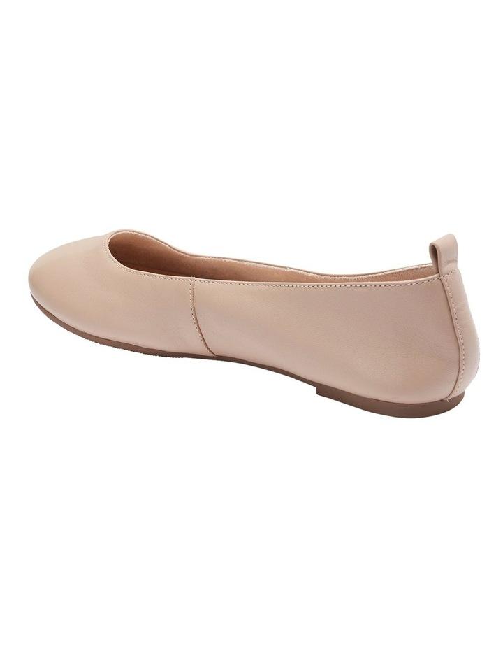 Gaze Nude Glove Flat Shoes image 4